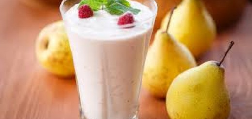 koktajl gruszka, maliny, banan - energia na caly dzien