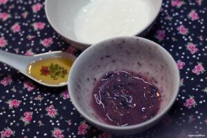 maseczka przeciwzmarszczkowa z jagodami
