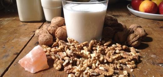 mleko orzechowe przepis