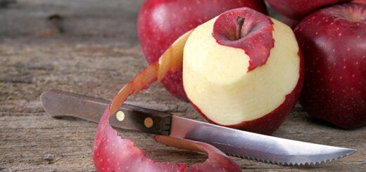 jak wykorzystac obierki z jablek