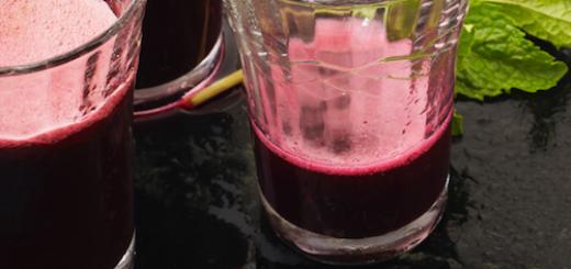 jednodniowy detoks - sok z botwiny