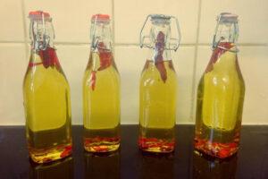 Olej z ostrych papryczek