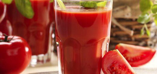 naturalny spalacz tłuszczu  - sok pomidorowy