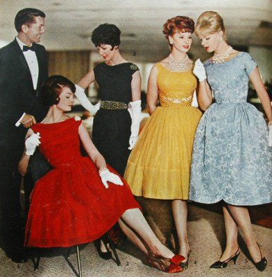 kobiety w latach 60-tych