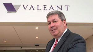 Valeant Pharma szef