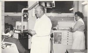 Pani Danuta w pracy 1974 rok