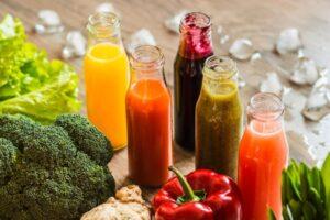 Soki warzywne i owocowe - jak łączyć aby uzyskać leczniczy koktajl