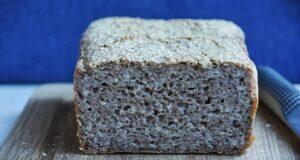 Chleb doskonały bez mąki i drożdży
