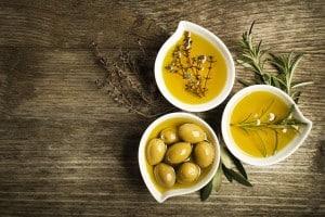 zaparcia oliwa z oliwek
