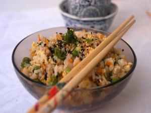 ryż po japońsku