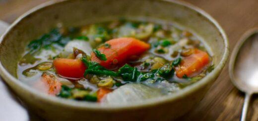 Zupa przedwiosenny detoks - odtruje, odkwasi, oczyści organizm z toksyn