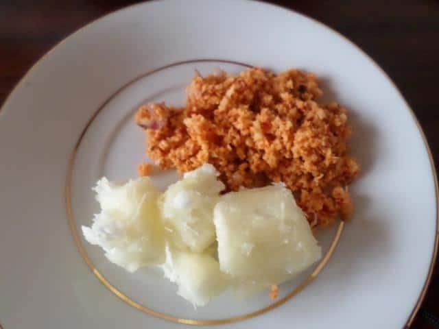 Maniok i tapioka potrawy