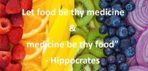 Niech pożywienie będzie lekarstwem, a lekarstwo pożywieniem