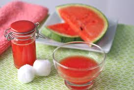 domowy tonik z arbuza