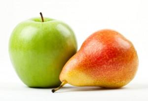 jablko gruszka