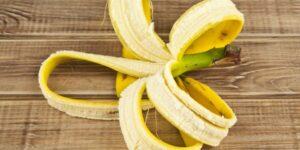 skórki od banana sposoby użycia