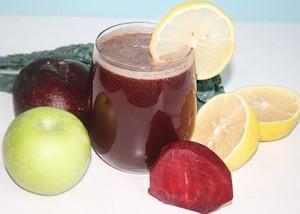 detoks botwina jarmuz jablko cytryna