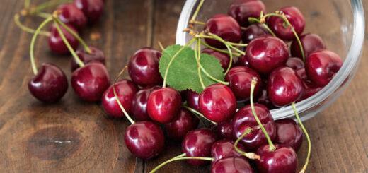 Ogonki czereśni, wiśni obniżą stężenie kwasu moczowego, odchudzą