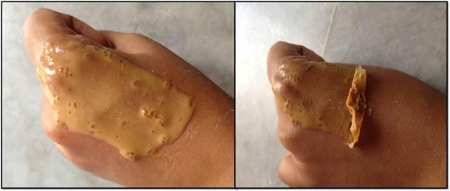 Żelatynowo-owocowa maseczka peel off