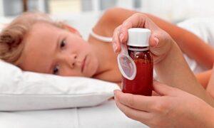 dzieci gorączka