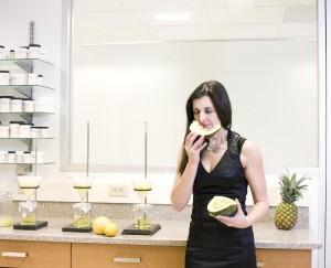 flavorist w laboratorium