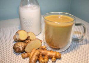 Imbir, kurkuma i mleko kokosowe przed snem