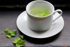 herbatka z pietruszki