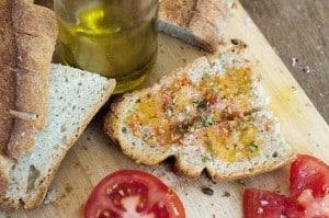 Chleb wloski z durum oliwa z oliwek