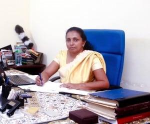 Dr Violet Weeramuni