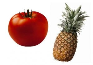 ananas pomidor a kwas moczowy