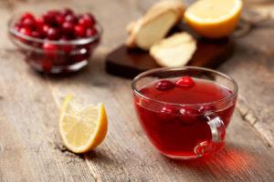domowy sok żurawinowy