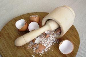 Skorupki jaj - doskonałe źródło minerałów i ..lekarstwo