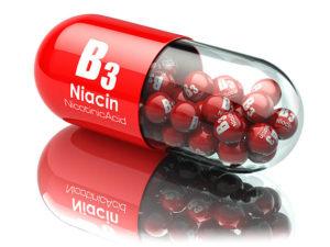 brak witaminy B3, PP, niacyny