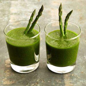 Szparagi dla zdrowia i urody. Przepisy lecznicze i kulinarne