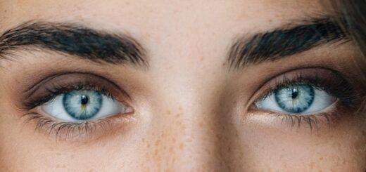 oczy masaż