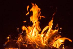 pięć żywiołów ogień