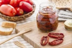 jak zrobić pomidory suszone