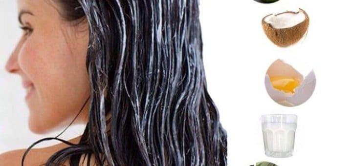 maseczki wzmocnienie włosów
