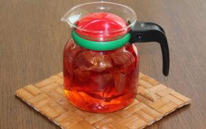 łupiny cebuli herbatka