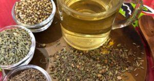 Ajurwedyjska herbatka z trzech nasion