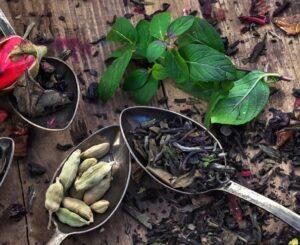zioła dla płuc, przyprawy