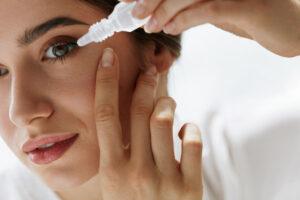 alergia krople do oczu