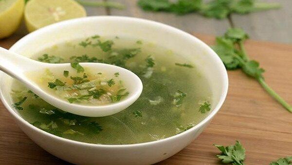 Cytrynowo-kolendrowa zupa pyszna i zdrowa